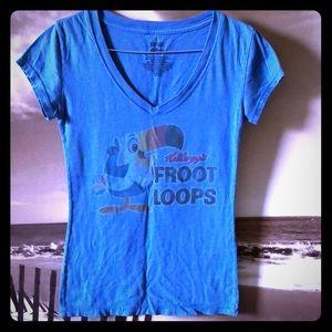Tops - Vintage Kellogg's Froot Loops Tucan Sam T